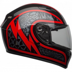 KASK BELL QUALIFIER SCORCH BLACK/RED
