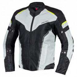 REBELHORN HIFLOW IV JACKET BLACK/SILVER/FLO YELLOW