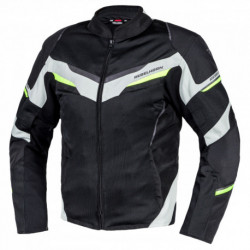 KURTKA TEKSTYLNA REBELHORN FLUX BLACK/ICE/FLO YELLOW