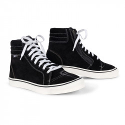 BROGER CALIFORNIA BLACK/WHITE Motorcycle Shoes