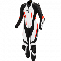 SHIMA MIURA RS LEATHER SUIT WHITE/FLUO