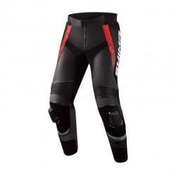 SHIMA STR 2.0 BLACK RED LEATHER PANTS