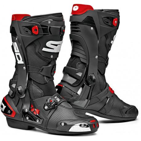 SIDI REX AIR BLACK BOOTS