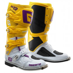 GAERNE SG12 WHITE GOLD PURPLE LIMITED EDITION BOOTS