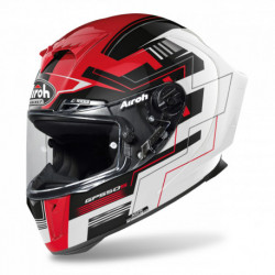KASK AIROH GP550 S CHALLENGE RED GLOSS
