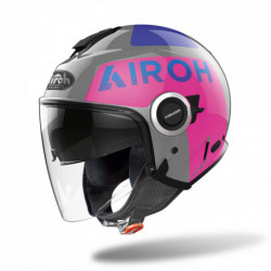 KASK AIROH HELIOS UP PINK GLOSS