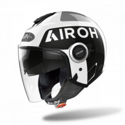 KASK AIROH HELIOS UP WHITE GLOSS