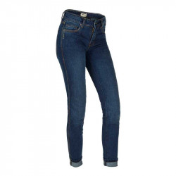 BROGER FLORIDA LADY WASHED BLUE Motorcycle Jeans