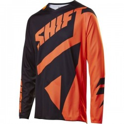 BLUZA SHIFT 3LACK MAINLINE BLACK ORANGE