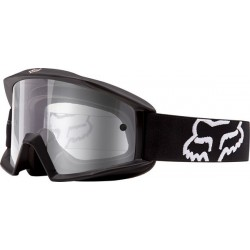 GOGLE FOX MAIN MATTE BLACK - SZYBA CLEAR