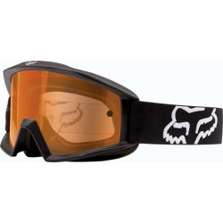 GOGLE FOX MAIN ENDURO MATTE BLACK - SZYBA ORANGE