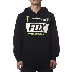 BLUZA FOX Z KAPTUREM MONSTER PADDOCK BLACK