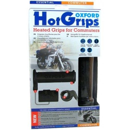 HEATED GRIPS 22MM R&G