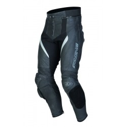 OZONE GRIP LEATHER PANTS BLACK