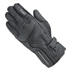 HELD TRAVEL 5 TEX BLACK LEATHER GLOVES