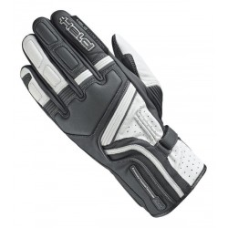 HELD TRAVEL 5 BLACK/WHITE LEATHER GLOVES