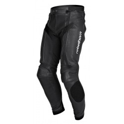 REBELHORN LEATHER TROUSERS PISTON II BLACK