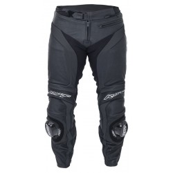 RST LADIES BLADE II BLACK LEATHER JEAN PANTS