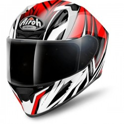 AIROH VALOR CONQUER RED GLOSS HELMET