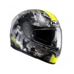 HJC FG-ST VOID BLACK/YELLOW HELMET