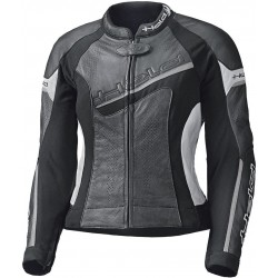 HELD LADY DEBBIE II BLACK/WHITE LEATHER JACKET
