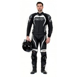 RST TRACTECH EVO II WHITE LEATHER SUIT
