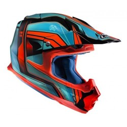 KASK HJC FX-CROSS PISTON BLUE/RED