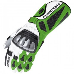 HELD PHANTOM II BLACK/GREEN GLOVES