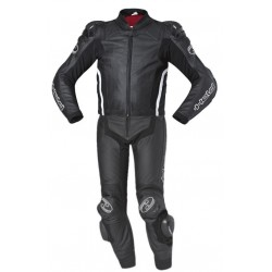 HELD SAFER GRIND BLACK LEATHER SUIT