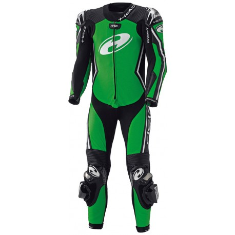 HELD LADY FULL-SPEED BLACK/FLUO GREEN SUIT