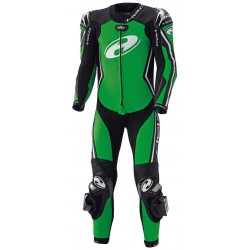 HELD FULL-SPEED BLACK/FLUO GREEN SUIT