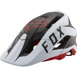 KASK FOX METAH FLOW WHITE/BLACK/RED