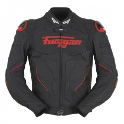 FURYGAN RAPTOR RED LETHER JACKET