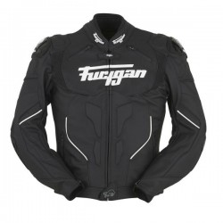 FURYGAN RAPTOR WHITE LETHER JACKET