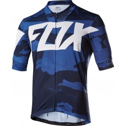 FOX ASCENT CREO BLUE CAMO JERSEY