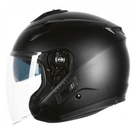 KASK OZONE OPEN FACE CT-01 BLACK MATT