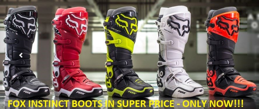 FOX INSTINCT BOOTS IN SUPER PRICE!!!